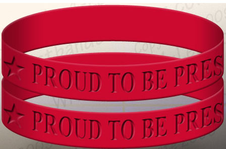 Now on Sale, Pres Wristbands!
